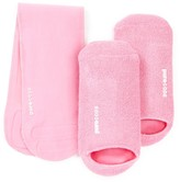 Pure Code Moisturizing Gel Socks & Neck Wrap Gift Set - Pink