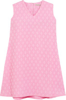 Emilia Wickstead Presly Cloqué Mini Dress - Pink