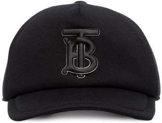 Burberry TB-embroidered trucker cap