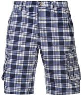 Soulcal Cargo Check Shorts Mens