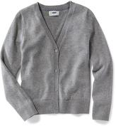 Old Navy Uniform V-Neck Cardi for Girls