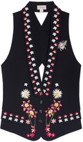 Temperley London Juniper Cross Back Waistcoat