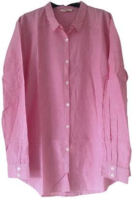 BA&SH Bash Pink Cotton Top for Women