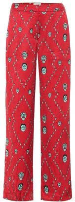 Kirin Printed satin pajama pants