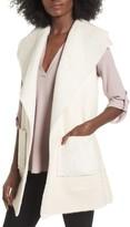 Women's Love Token Faux Shearling Vest