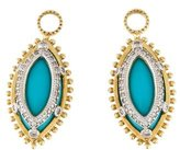 Jude Frances Turquoise & Diamond Drop Earrings