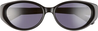 Marc Jacobs 55mm Oval Sunglasses