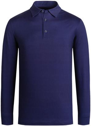 Bugatchi Men's Chevron Polo Shirt