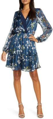 Adelyn Rae Elaine Floral Tiered Dress