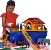 Freya Me and Wooden Noah's Ark Play Set
