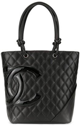 Chanel Pre Owned Cambon CC tote