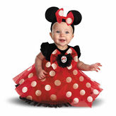 Asstd National Brand Disney Minnie Mouse Infant 3-pc. Dress Up Costume