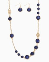 Charming charlie Catalina Station Necklace Set