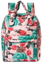 Marc by Marc Jacobs Pretty Nylon Jerrie Rose Knapsack Backpack