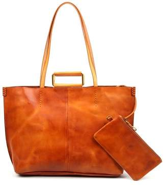 Old Trend High Hill Leather Tote Bag & Pouch
