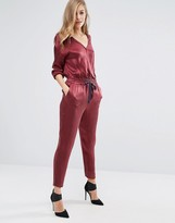 Sisley Jumpsuit with Tie Waist