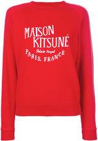MAISON KITSUNÉ Palais Royal print T-shirt - women - Cotton - S