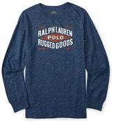 Ralph Lauren Boys 2-7 Graphic Logo Tee