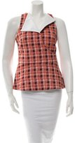 Derek Lam Plaid Top w/ Tags
