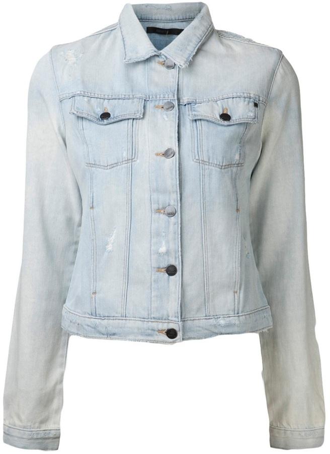 Genetic Denim 'Mia' rigid jacket
