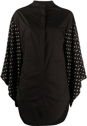 Haider Ackermann Oversized Wide-Sleeves Shirt
