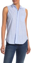 Frank And Eileen Fiona Sleeveless Button Down Shirt