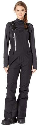 Roxy GORE-TEX(r) 2L Prism Snow Bib Pants (True Black) Women's Clothing