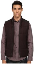 Vince Quilted Vest w/ Leather Piecing