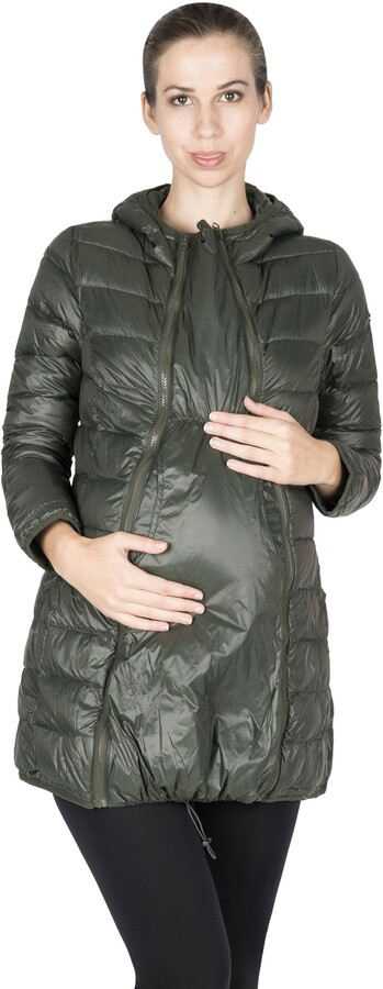 Thumbnail for your product : Modern Eternity Lightweight Down 3-in-1 Maternity/Nursing Jacket