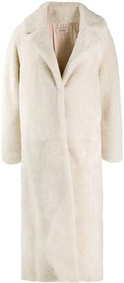 Yves Salomon Meteo long-line coat