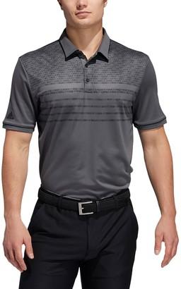 adidas Men's Core Modern-Fit Novelty Golf Polo