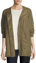 Eileen Fisher Lightweight Hooded Jacket