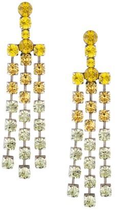 Dannijo Asher Embellished Chandelier Drop Earrings