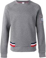 Moncler Gamme Bleu logo sweatshirt - men - Cotton/Polyamide - S