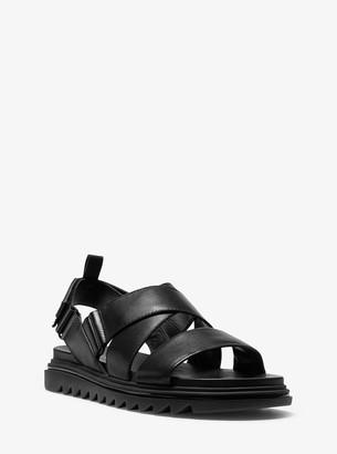 MICHAEL Michael Kors Damon Leather Sandal