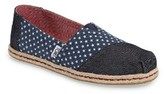 Toms Women's Star Print Slip-On Alpargata