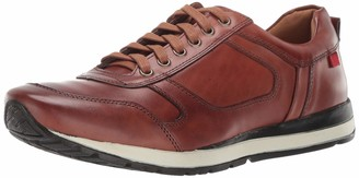 Marc Joseph New York Mens Genuine Leather Made in Brazil Carmine Street Sneaker