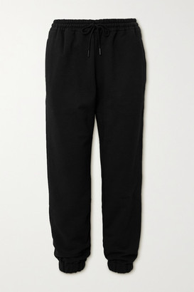 Wardrobe NYC Cotton-jersey Track Pants - Black