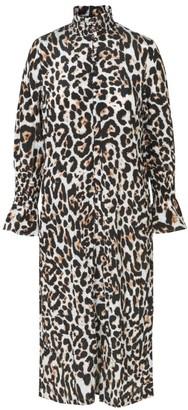 Baum und Pferdgarten Aeverie Leopard Print Midi Dress