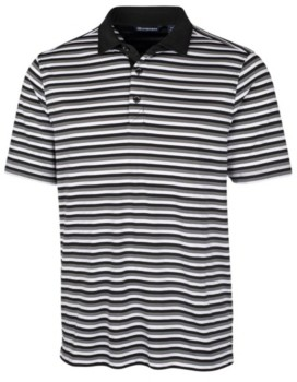 Cutter & Buck Men's Forge Multi Stripe Polo Shirt