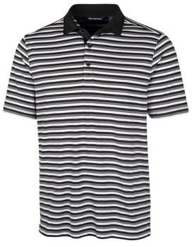 Cutter & Buck Men's Forge Multi Stripe Polo Shirt