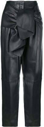 Krizia tie front trousers