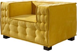 Chic Home Bryant Yellow Club Chair