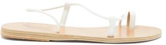 Ancient Greek Sandals Afea Leather Sandals - White