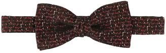 Cerruti abstract print bow tie