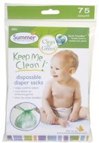Bed Bath & Beyond Summer® Keep Me TidyTM 75-Count Disposable Diaper Sacks