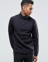 French Connection Plackett Sweater
