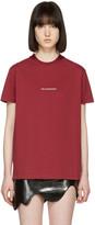 Hood by Air Red 2007 T-shirt