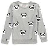 Flowers by Zoe Girl's All Over Panda Sweatshirt