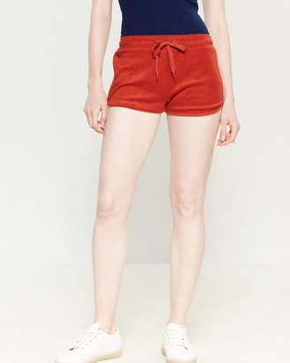Derek Heart Terrycloth Mini Shorts